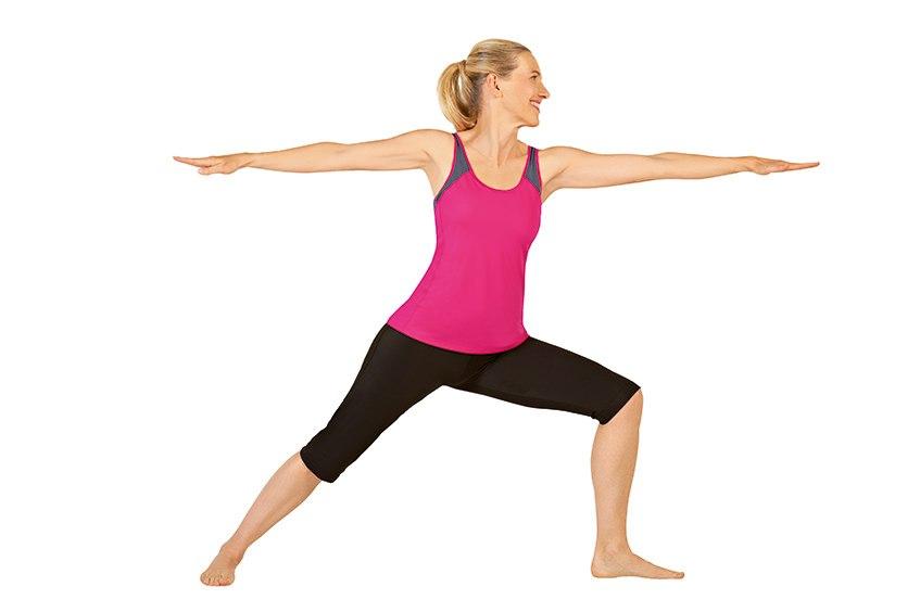krieger drei yoga