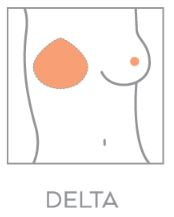 amoena delta breast shaper
