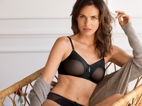 Amoena mastectomy bra and swimsuit collection