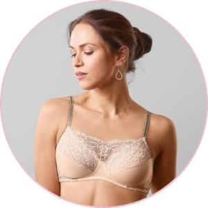 amoena solution mastectomy bra with pockets after breast surgery