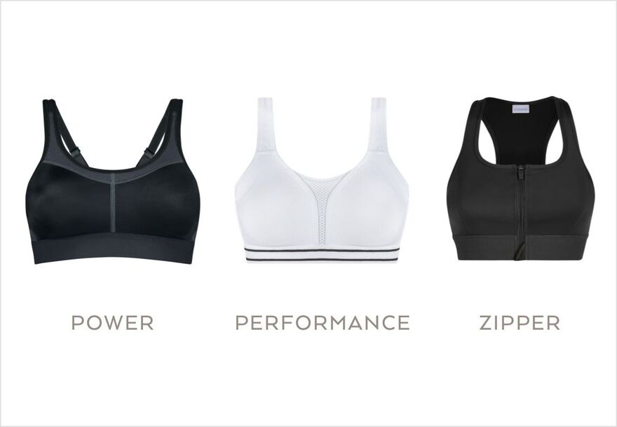 Post Surgery Sports Bras – front fastening amoena black mastectomy bra