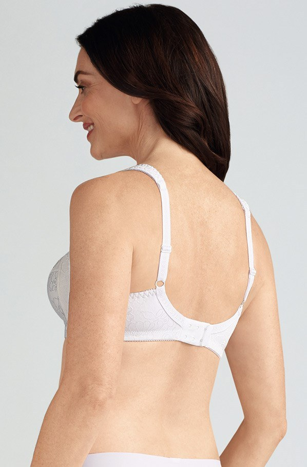 a586a69a60 Nora Non-wired Soft Mastectomy Mastectomy Bra - white