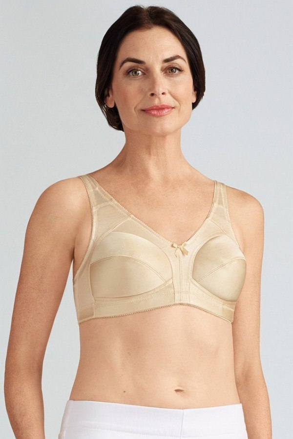 b1f94f8076 Ava Wire-Free Mastectomy Mastectomy Bra - pearl beige