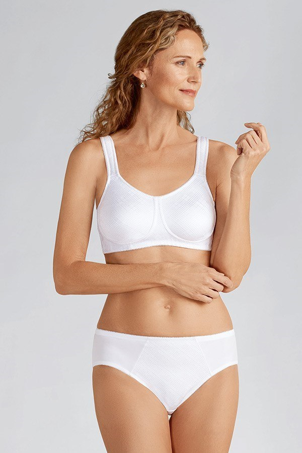 f762aa847b802 Dianna Non-wired Soft Mastectomy Mastectomy Bra - white