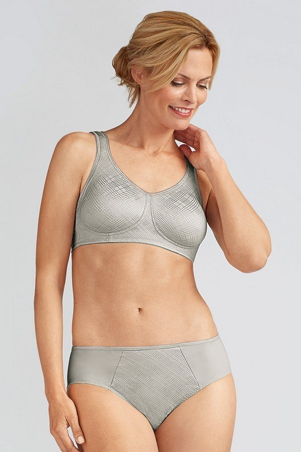 3a78970d863e1 Dianna Non-wired Soft Mastectomy Bra - silver