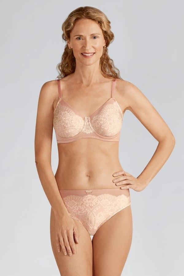 096ea17142 Emmy Underwired Mastectomy Bra - pink size 18A