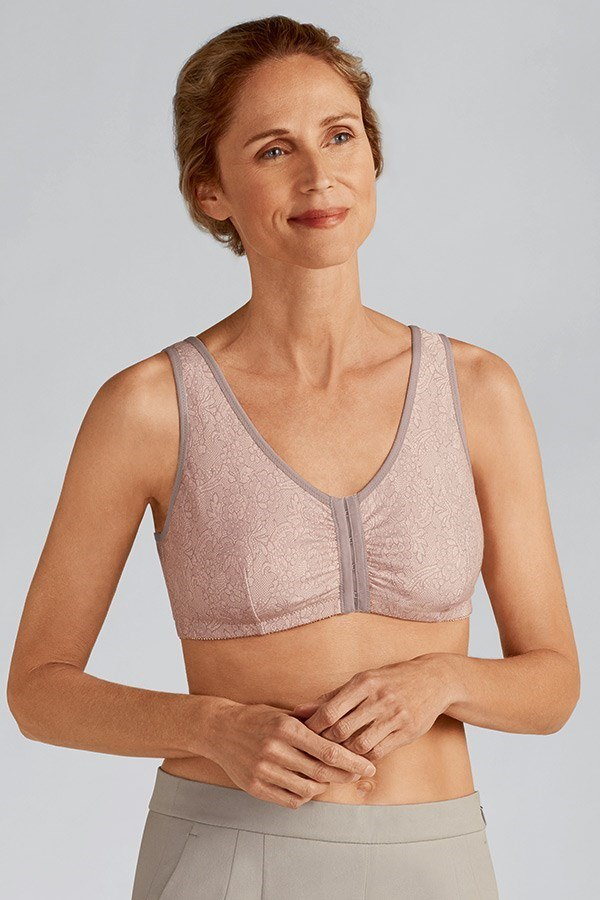 Frances Wire-Free Front Closure Bra
