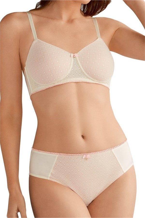 28fa33e42 Jade Padded Non-Wired Mastectomy Bra - off white