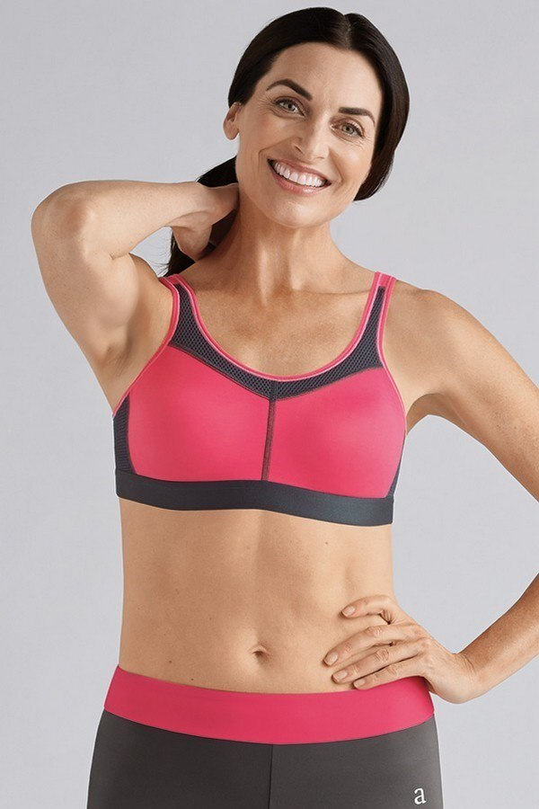 043106f4f5 Power Sports Mastectomy Mastectomy Bra Medium Support - Flamingo ...