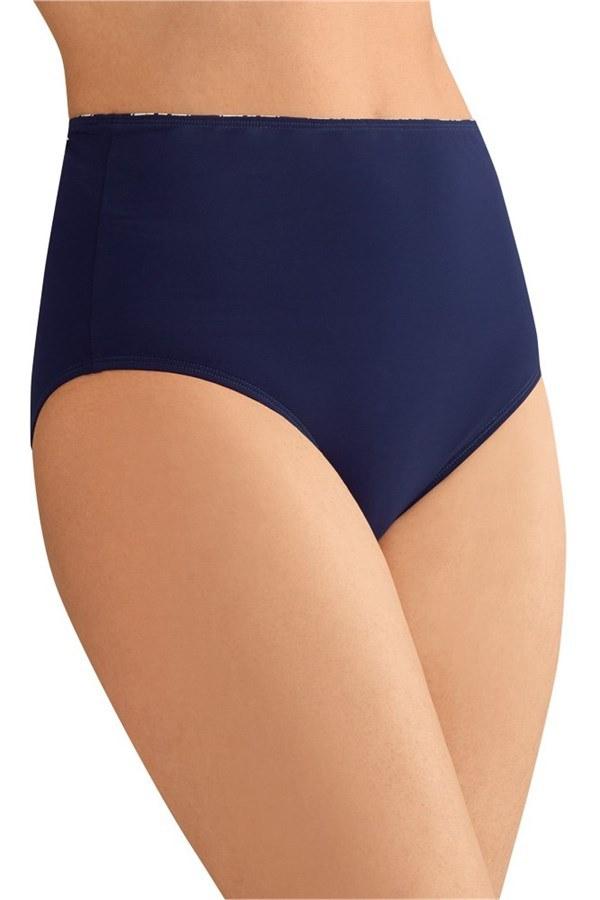 Samos High Waist Brief - blue | Pocketed Mastectomy