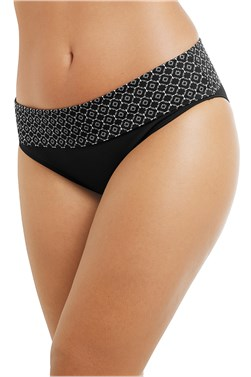 Ayon High Waist Brief - swim bottoms
