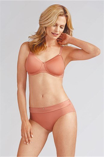 Lara Satin Non-Wired Bra