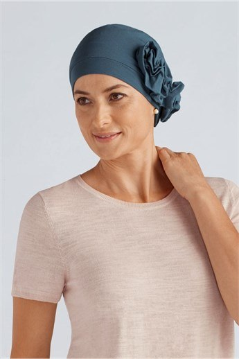 Marigold Turban - Blomapplikation