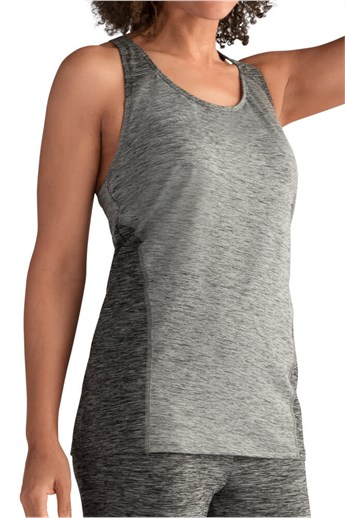 Mélange Sports Top - sports top with built-in bra