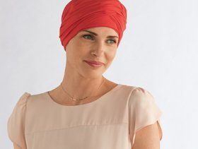 amoena chemo headwear, turban and head scarf
